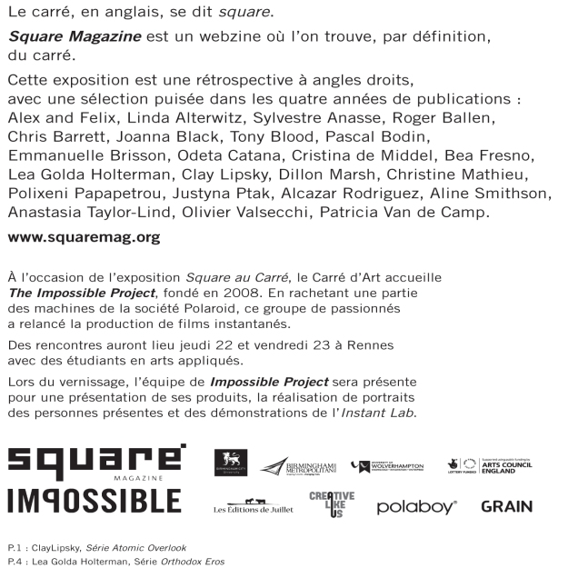 SQUARE AU CARRÉ 2