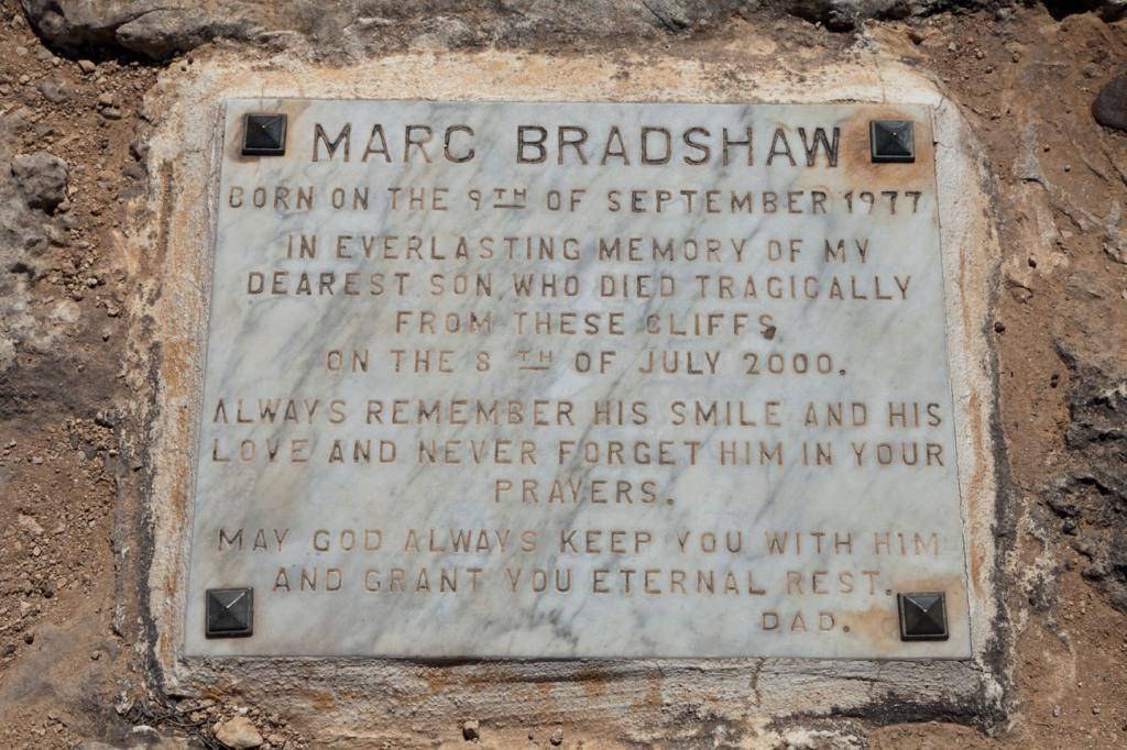 © Tony Blood - Marc Bradshaw Memorial. Chapel of Immaculate Conception. Mellieha, Malta, 27 August 2014