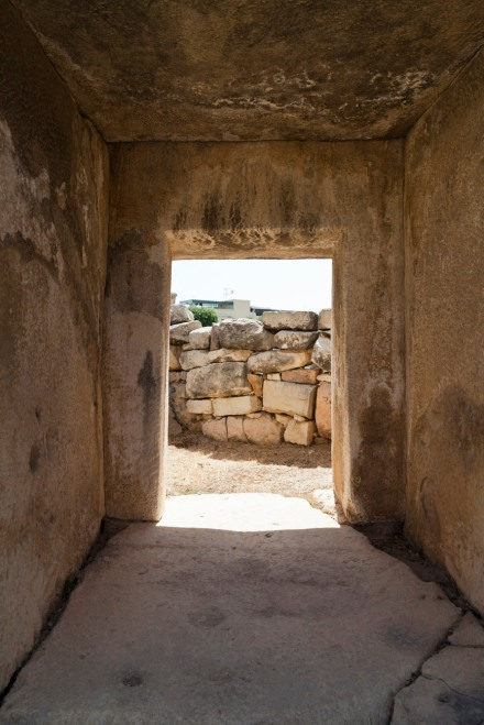 © Tony Blood - Entrance. Tarxien Temples. Tarxien, Malta, 13 August 2014