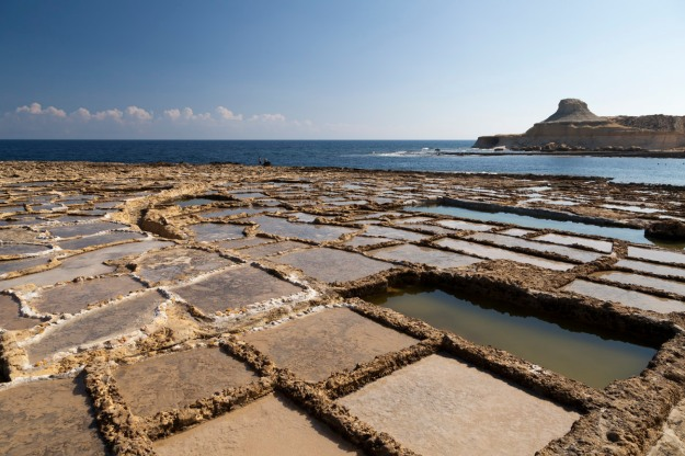 © Tony Blood - Xwejni Salt Pans, Żebbuġ, Gozo, 30 August 2014