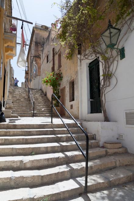 © Tony Blood - Steps. Senglea, Malta, 30 July 2014