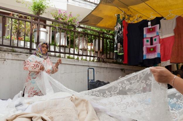 © Tony Blood - Büyükada Market, Princes' Islands, Turkey. 3 July 2014