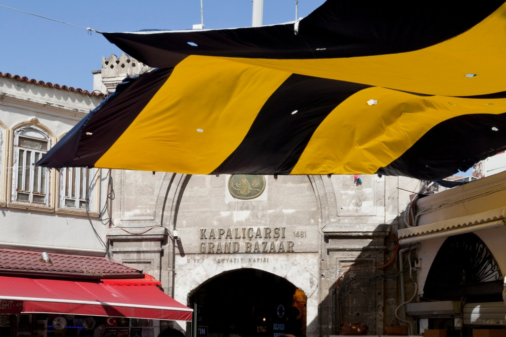 © Tony Blood - Grand Bazaar, Istanbul, Turkey. 7 July 2014